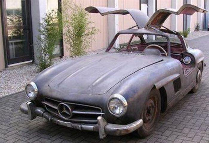 Abandoned Luxury Cars