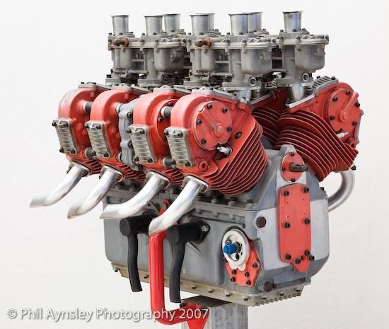 V8 Engine Good Or Bad: Note The Original Dual Overhead Cam V8 Osca Bunk: Another