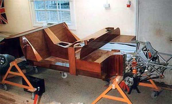 The Wooden Wonder Plywood Monocoque