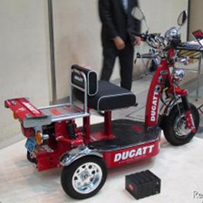 DUCATIの電動バイク!?