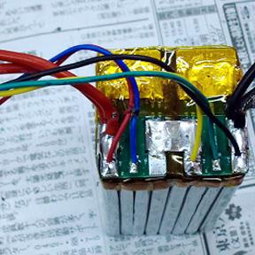 SHORAI バッテリーを分解する