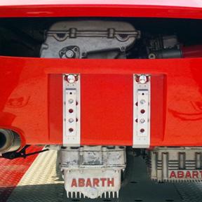 車検場にて [ 4 ]  Abarth Simca 2000 Corsa Coupe