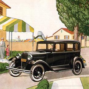 車検場にて [ 5 ] 1929年 フォードA型